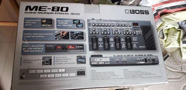 Pedaleira BOSS ME 80 (importada) - Foto 3