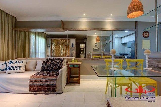 Apartamento todo MOBILIADO com 1 dormitório à venda, 39 m² por R$ 380.000 - Capuan - Cauca - Foto 7