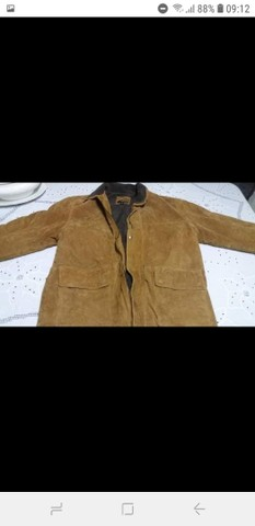 Vendo jaqueta de couro original