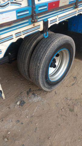 Mercedinha 710 2003 azul - Foto 3