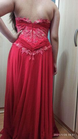 Vestido de festa 100% seda  - Foto 2