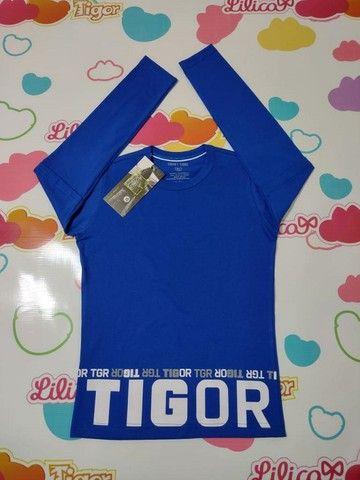 Camiseta Manga Longa Tigor - Foto 5