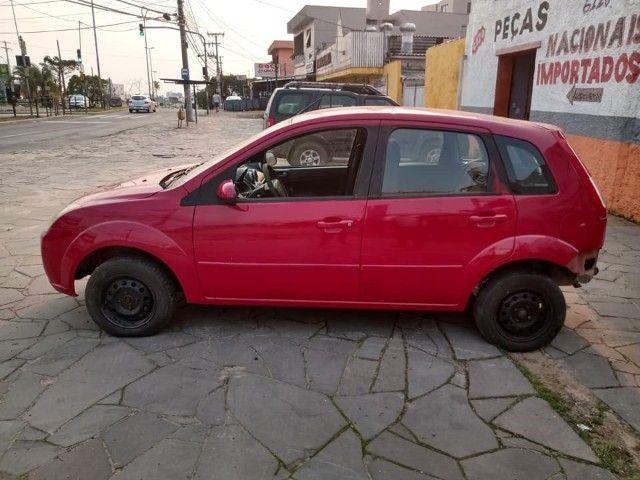 Sucata Peças Ford Fiesta zetec rocam completo compressor caixa - Foto 7