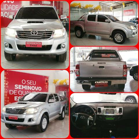 Toyota hilux srv at 3.0 4x4 diesel aro17 top de linha