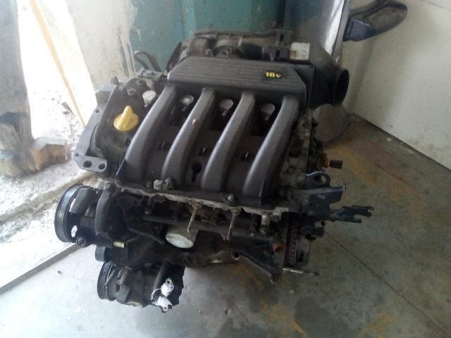 Motor parcial Renault 1.6 16v a base de troca