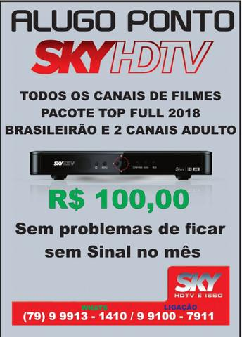 Vendo sky HDTV 2018