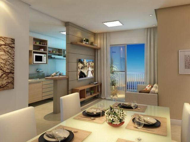 Apartamento 2 quartos c/ varanda vaga coberta ITBI gratis próximo a praia