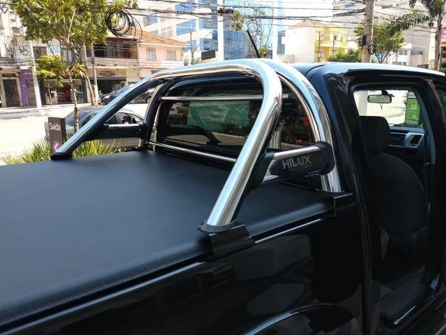 Toyota Hilux 2013, 74.000 km praticamente único dono, impecável - Foto 14