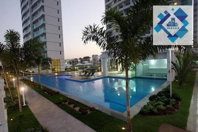 Apartamento com 3 dormitórios à venda, 72 m² por R$ 460.000,00 - Guararapes - Fortaleza/CE - Foto 2