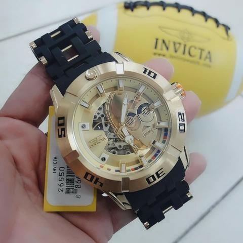 9223267499e Relógio Invicta Star Wars edição limitada masculino importado original  passo cartão