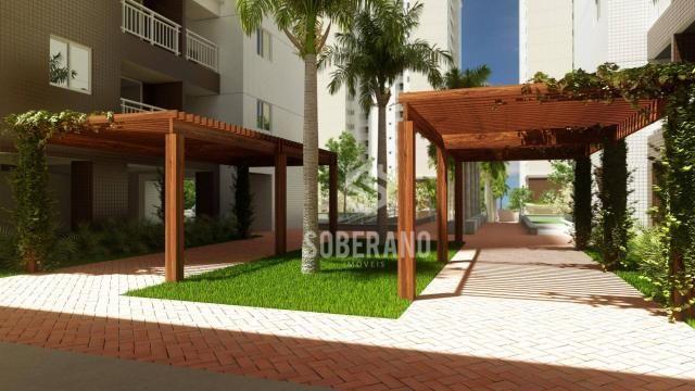 Apartamento com 3 dormitórios à venda, 78 m² por R$ 377.266 - Bancários - João Pessoa/PB - Foto 9