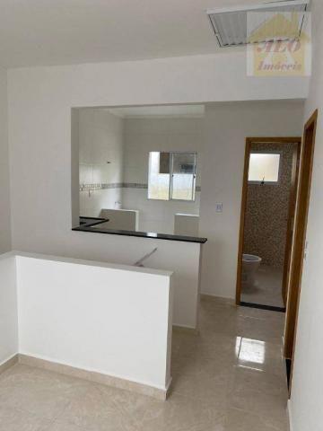 Casa com 2 dormitórios à venda, 50 m² por R$ 144.900 - Maracanã - Praia Grande/SP - Foto 6