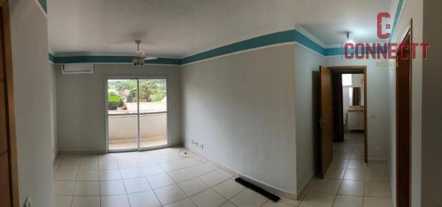 Apartamento com 2 dormitórios para alugar, 73 m² por R$ 1.300/mês - Jardim Botânico - Ribe