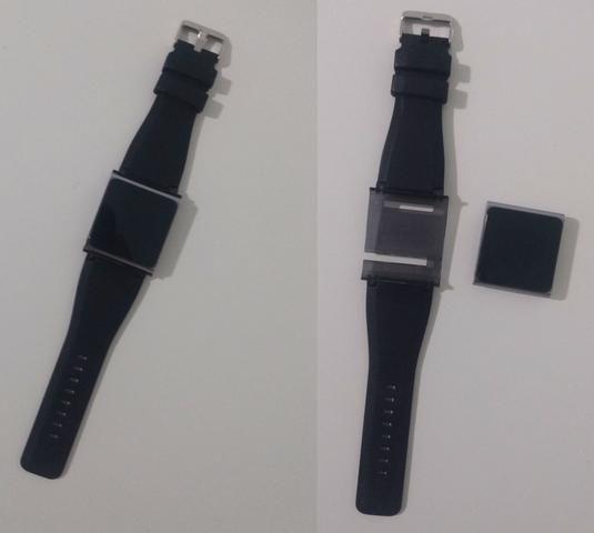 IPod Nano 8 GB Graphite + Pulseira Preta + Fone de Ouvido - Foto 6