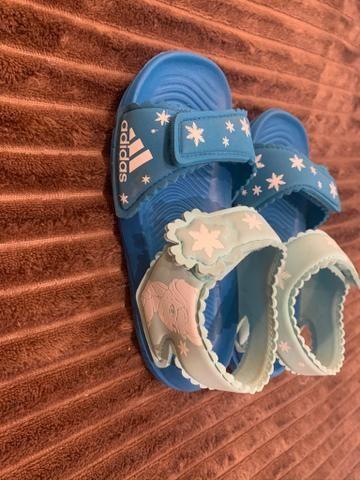 Lote De Roupas E Sapatos Menina De 3/4 Anos Mais De 30 Peça - Foto 2