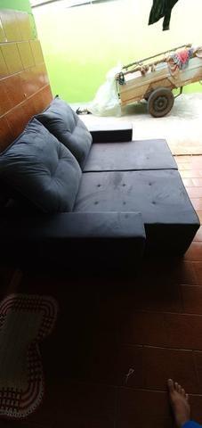 Sofá reclinável retrátil Novo garantia entrego barato - Foto 2