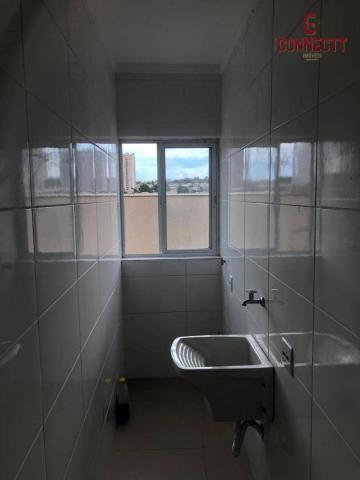 Apartamento com 2 dormitórios para alugar, 73 m² por R$ 1.300/mês - Jardim Botânico - Ribe - Foto 10