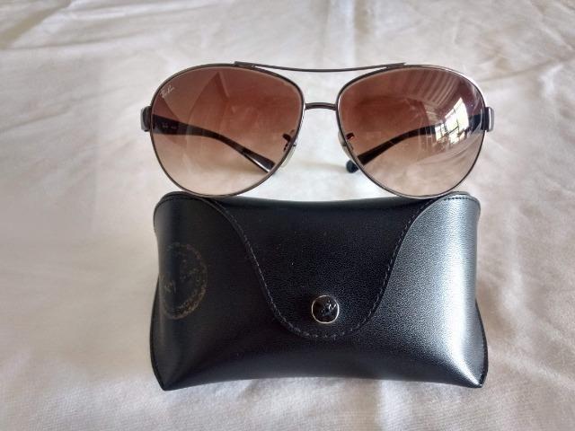 Óculos de Sol Ray Ban Aviador Original USA Modelo 004/13