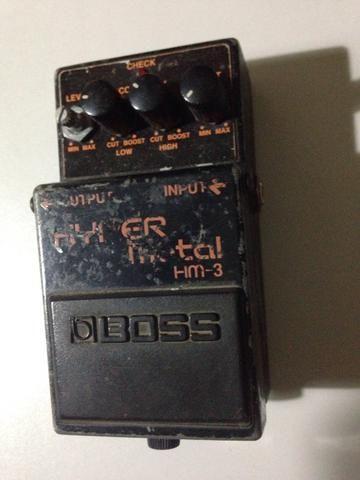 Pedal Guitarra Boss Hyper Metal HM-3 - Foto 3