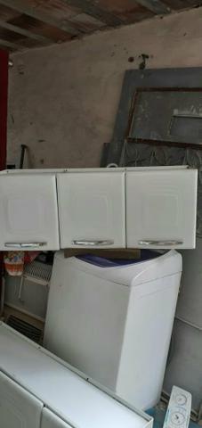 Vendo 2 armário de cozinha de parede de 3 portas não reservo - Foto 3