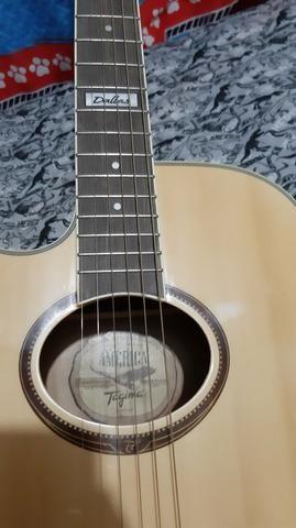 Vendo ou troco por play 3, violão tagima dallas para canhoto - Foto 6