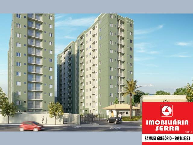 SAM 179 Villa do Mestre - 50m² - 2 quartos c/suite - Entrada facilitada