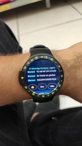 Smartwatch Ticwatch S - De R$ 2400 Por Apenas R$ 750 Responde Whatsapp - Foto 2