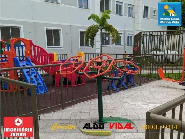 ARV 96 Apartamento Novo 2 Quartos, Condomínio Club. Carapebus, Serra - ES - Foto 16