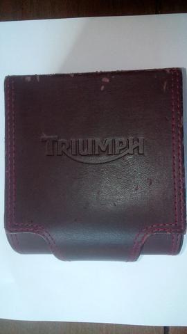 Relógio Triumph Motorcycles Original Inox - Movimento Suíço - Na Caixa! - Foto 4