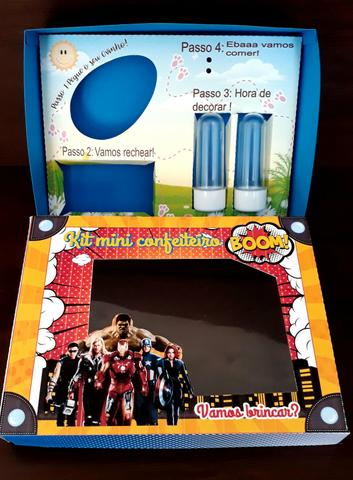 Caixas kit mini confeiteiro - Foto 2