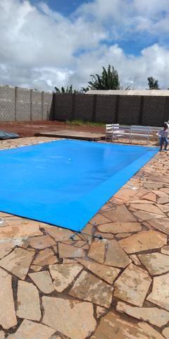 Capa de proteção pra piscina - Foto 6