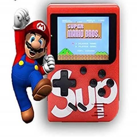 Vídeo Game Portátil 400 Jogos Internos Mini Game Sup Retro