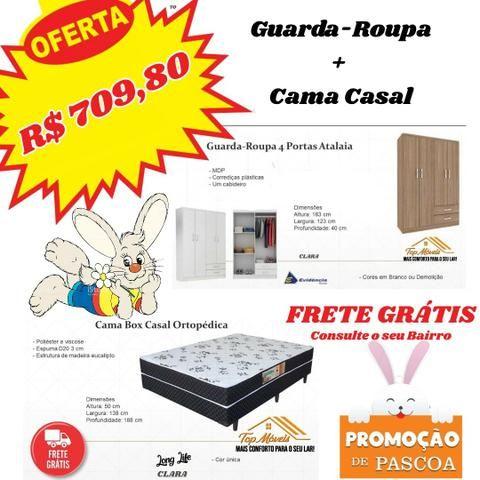 GR 4 pts + Cama Casal apenas 710,00