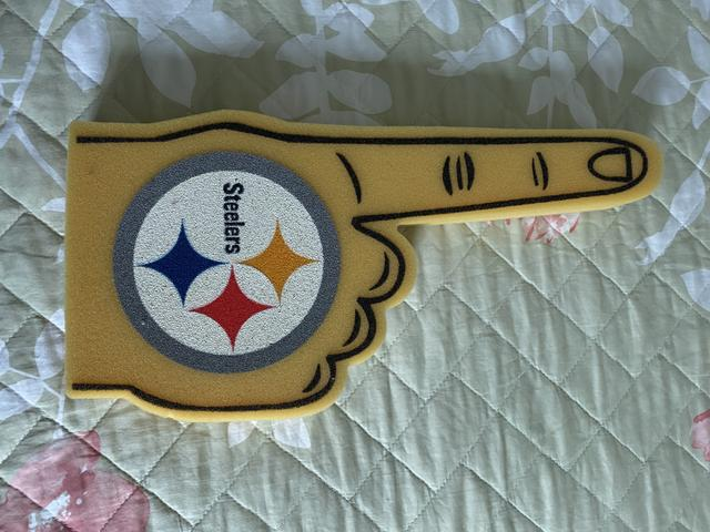 Dedão espuma Pittsburgh Steelers