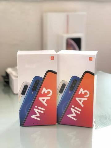 Mi A3 128GB R$ 1299,00 / Mi A3 64GB R$ 1150,00 Novo Lacrado