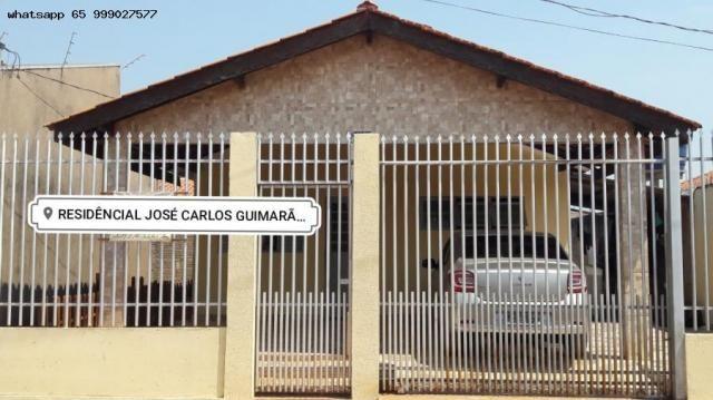 Casa Usada para Venda em Várzea Grande, Novo Mundo, 3 dormitórios, 1 suíte, 2 banheiros, 2