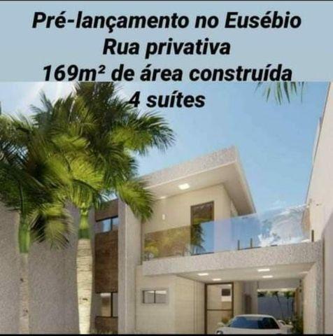 Casa de alto  padrão, 4 suítes,  3 vagas, rua privativa, lote 8 m de largura  - Foto 18