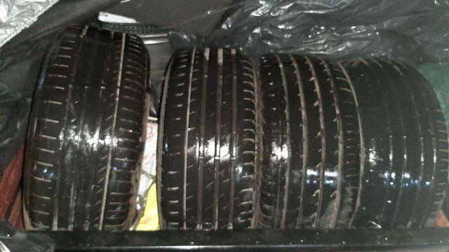2 pneus 225/45/17 e 2 pneus 245/40/17. R$125,00 CADA PNEU. - Foto 6