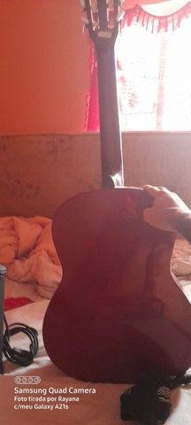Violão e caixa cubo para violão  e guitarra  - Foto 4