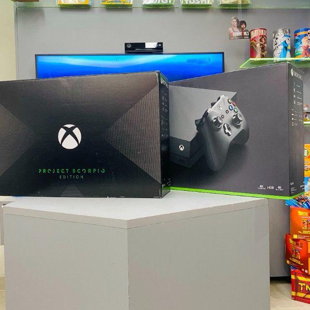 Xbox One X Seminovo - Com Garantia - Loja Fisica - Foto 2