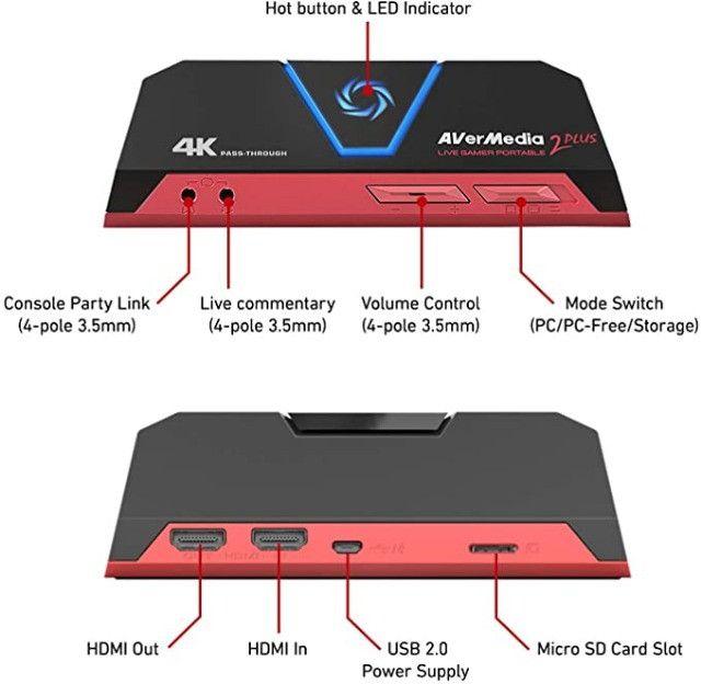 Placa de Captura Live Gamer Portable 2 Plus - Foto 2