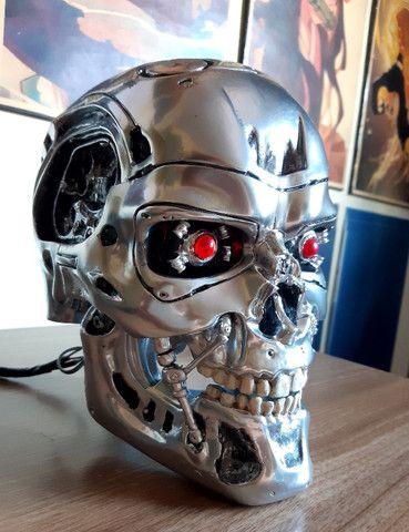 O Exterminador Do Futuro Crânio T800 Tamanho Real Escala 1/1