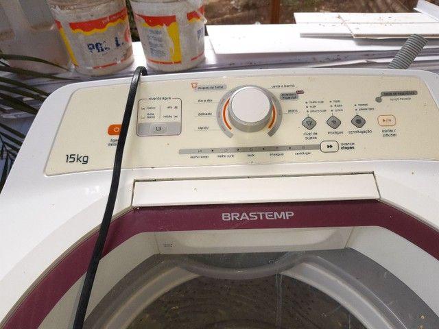 Máquina de lavar Brastemp 15 kg - Foto 3