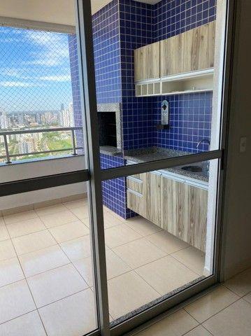 Apartamento com 3 quartos, churrasqueira e andar alto próximo ao Pantanal Shopping - Foto 5