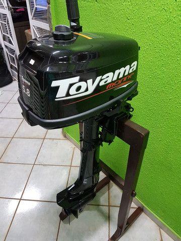 MOTOR DE POPA TOYAMA TM 5.8TS 102CC GASOLINA
