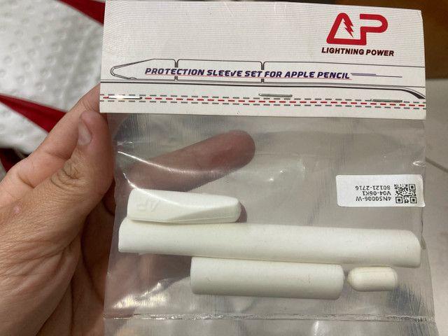 Capinha silicone Apple Pencil 1