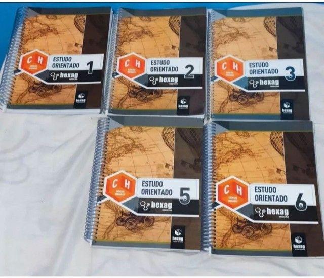Kit (5) Hexag EO Ciências Humanas