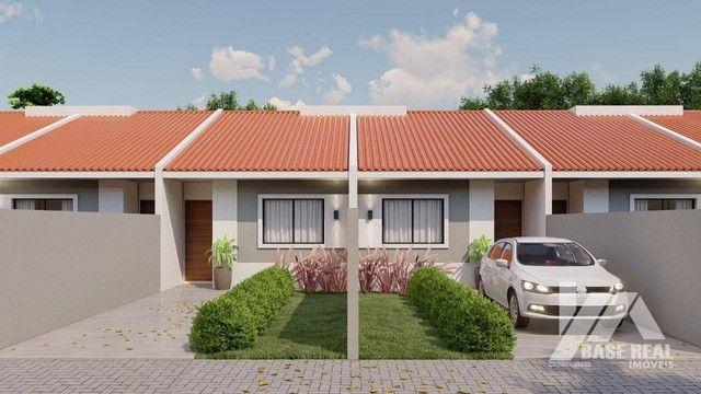 Casa com 2 dormitórios à venda, 50 m² - Boa Vista - Ponta Grossa/PR - Foto 2