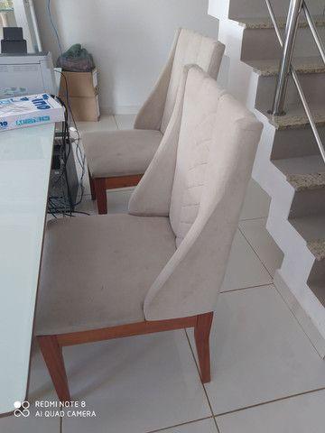Cadeiras para mesa de jantar estilo poltornas