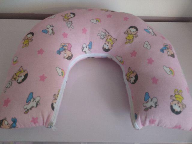 Porta bebê/ segura bebê/ almofada amamentação - Foto 4